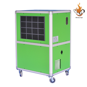 Mobile Eco-friendly 138L/D Dehumidifier Commercial